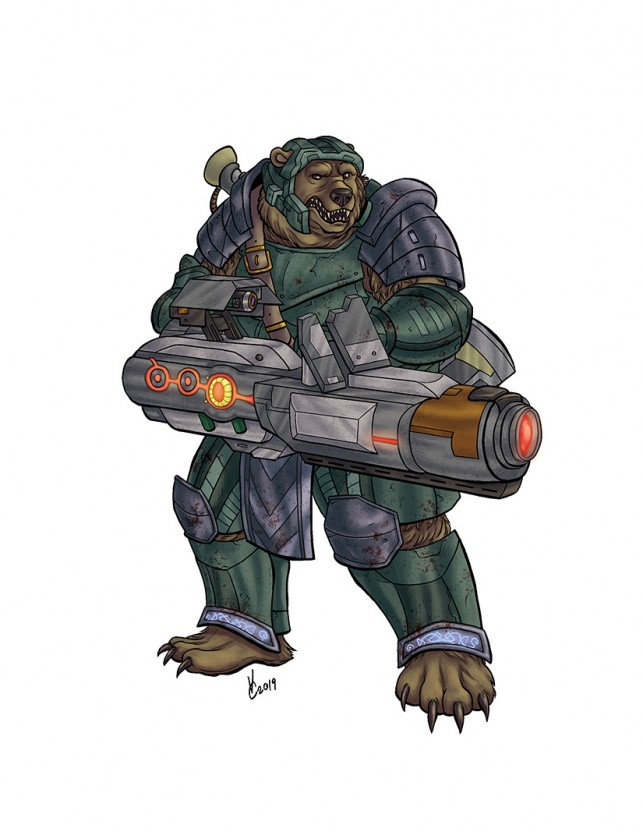 Urzba Space Marine