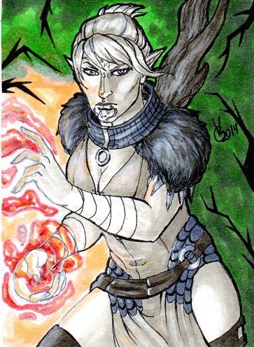 Dragon Age Awakening Velanna