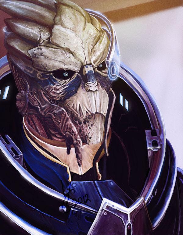 Mass Effect 3 Garrus Vakarian