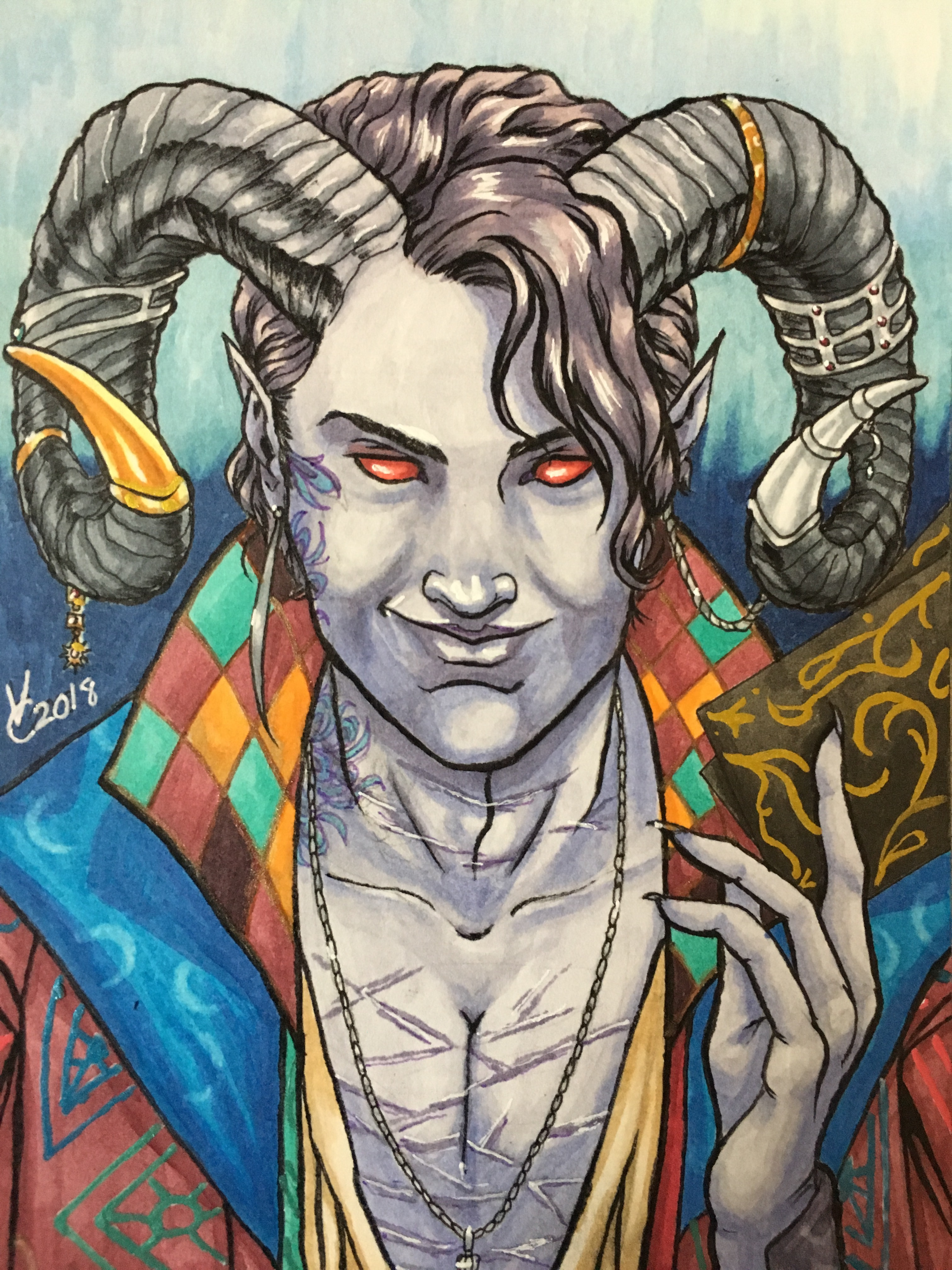 Critical Role Mollymauk