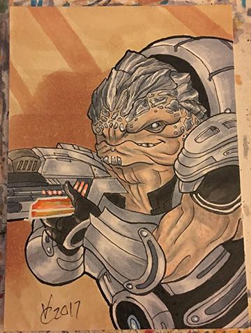 Mass Effect Grunt