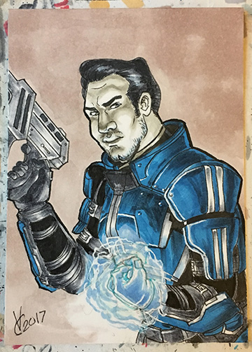 Mass Effect Kaidan