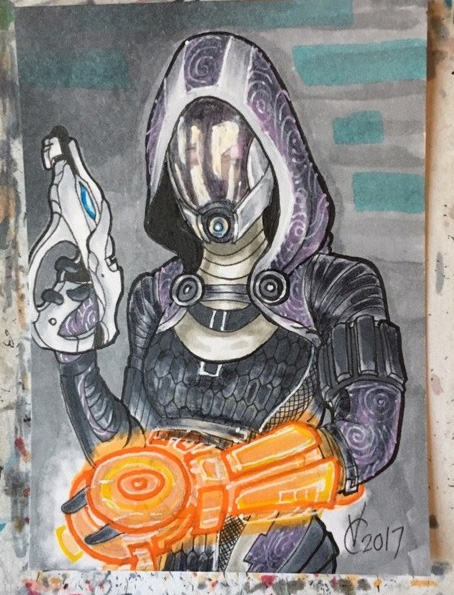 Mass Effect Tali