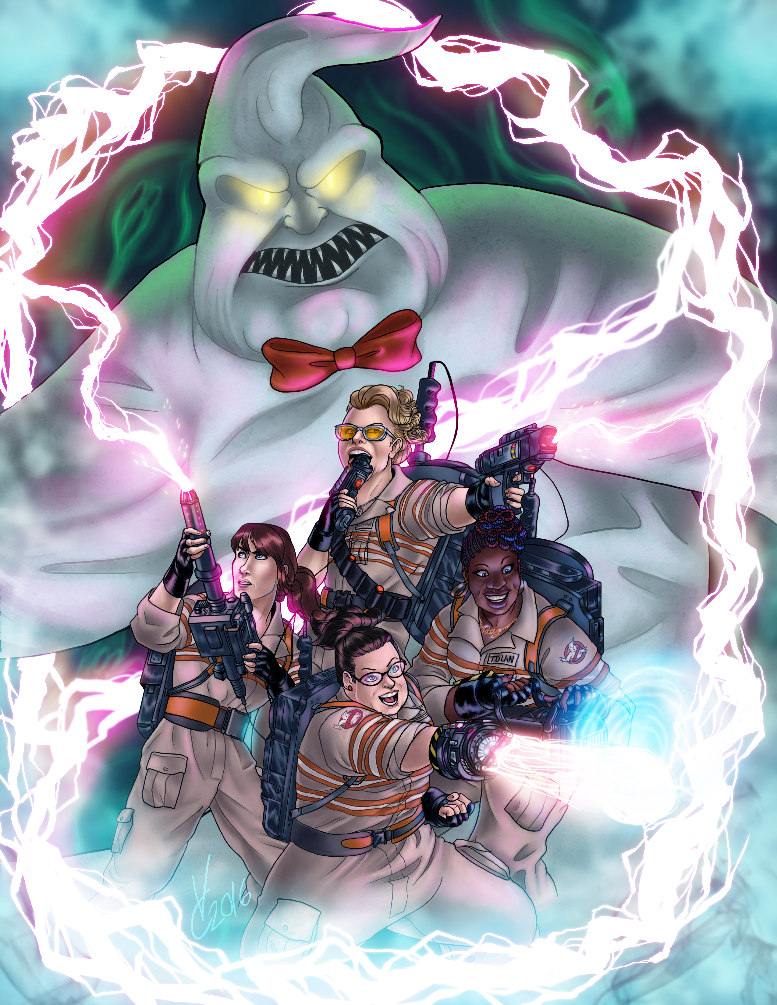 Answer The Call Ghostbusters 2016