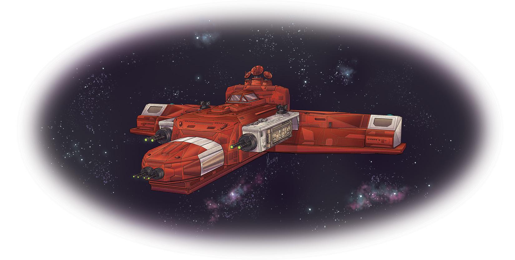 Space Adventure Rulebook Firebrand Flametongue