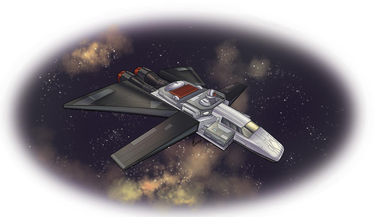 Space Adventure Rulebook Sendai-Nakamura Midnight Freighter