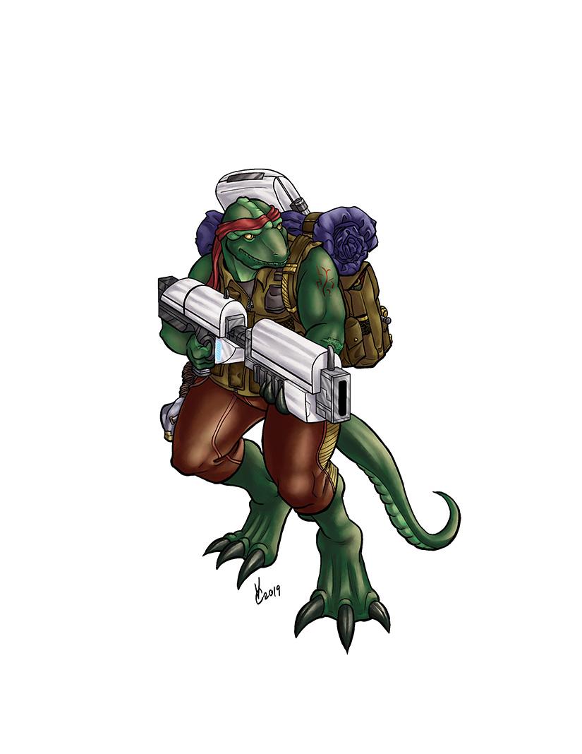 Space Adventure Rulebook Tarzissian Bounty Hunter