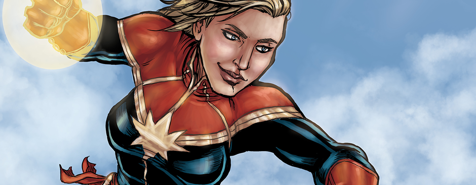 Skyward with Captain Marvel