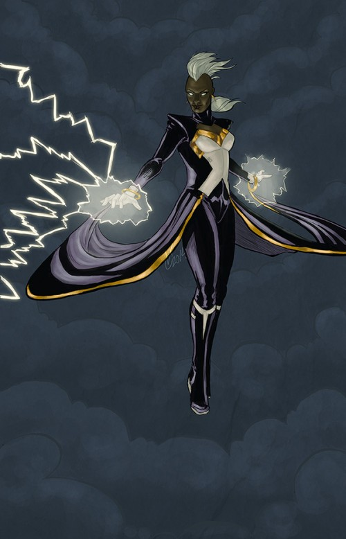Elements at Her Command, Storm