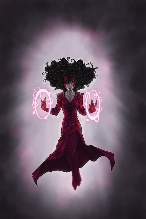 Crimson and Chaos, the Scarlet Witch