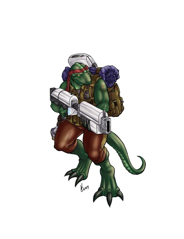 Tarzissian Bounty Hunter